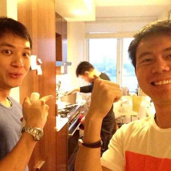 khun Boy became a chef