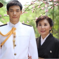 Kobori and his mother