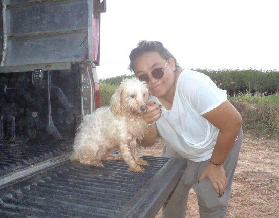 Kaomao @ the rescued animal shelter back in Nov. 2011