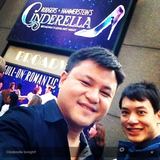 "@ Broadway Musical ""Cinderella"""