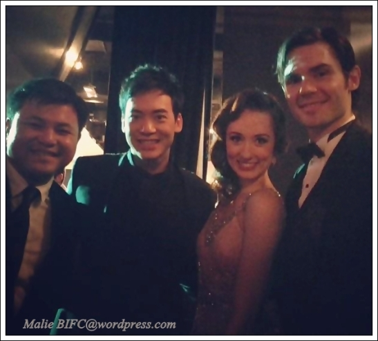 khun Boy, Bie, Claire Lyon, & Anthony Downing