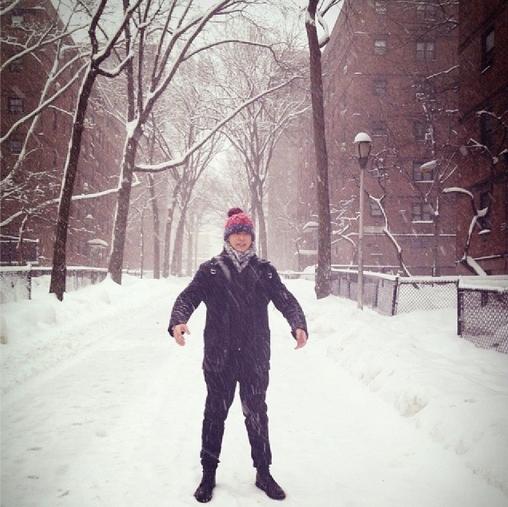 snow storm in NY