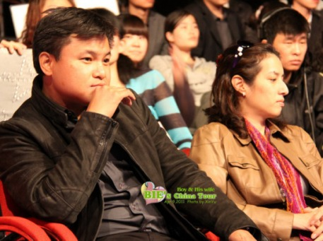khun Boy in the audience