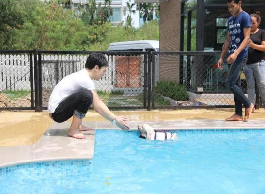 swim Kao Mao!!