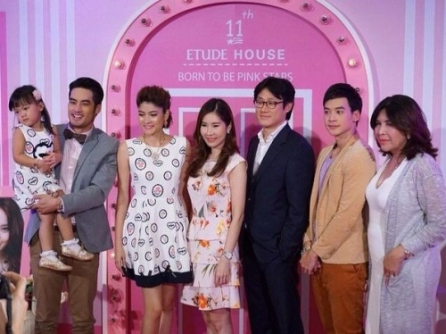 with ETUDE management, Markie, Boy Pakorn & Wanmai