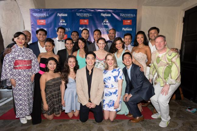 the cast @ the official opening night, June 7, 2015
