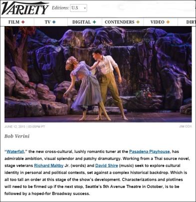 WATERFALL Variety News